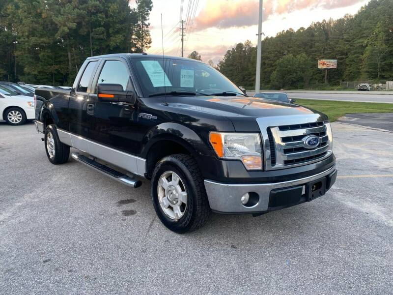 2010 Ford F-150 for sale at Galaxy Auto Sale in Fuquay Varina NC