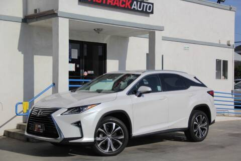 2017 Lexus RX 350 for sale at Fastrack Auto Inc in Rosemead CA