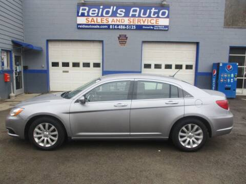 2013 Chrysler 200 for sale at Reid's Auto Sales & Service in Emporium PA