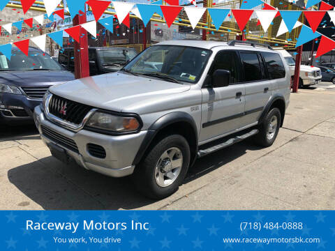 2003 Mitsubishi Montero Sport for sale at Raceway Motors Inc in Brooklyn NY
