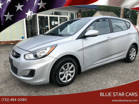 2012 Hyundai Accent for sale at Blue Star Cars in Jamesburg NJ
