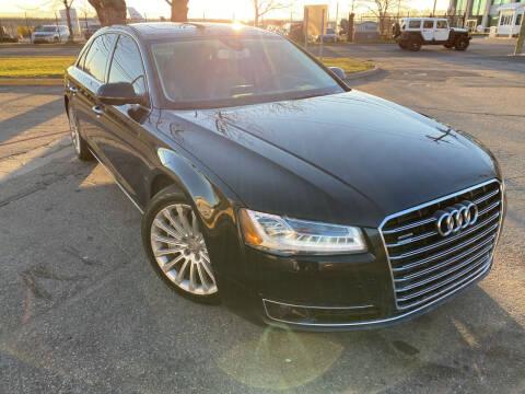 2016 Audi A8 L for sale at JerseyMotorsInc.com in Teterboro NJ
