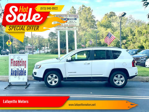 2014 Jeep Compass for sale at Lafayette Motors 2 in Andover NJ