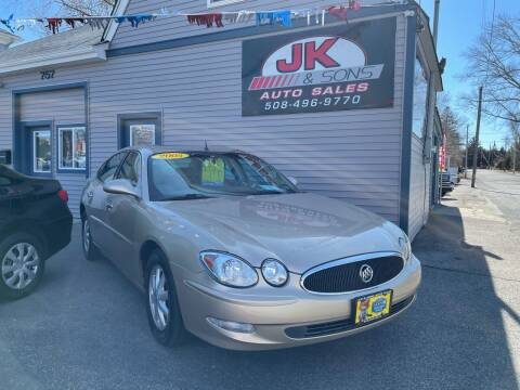 2005 Buick LaCrosse for sale at JK & Sons Auto Sales in Westport MA