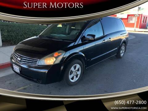 2008 Nissan Quest for sale at Super Motors in San Mateo CA