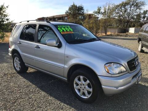 1999 Mercedes-Benz M-Class for sale at Quintero's Auto Sales in Vacaville CA