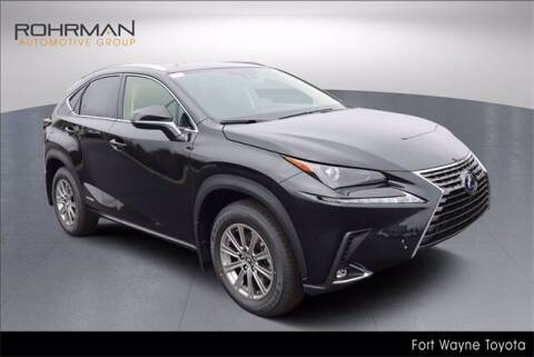 2021 Lexus NX 300h for sale at BOB ROHRMAN FORT WAYNE TOYOTA in Fort Wayne IN