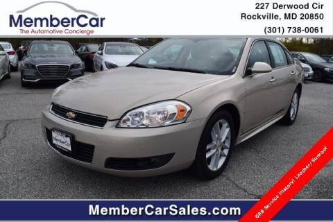 2009 Chevrolet Impala for sale at MemberCar in Rockville MD
