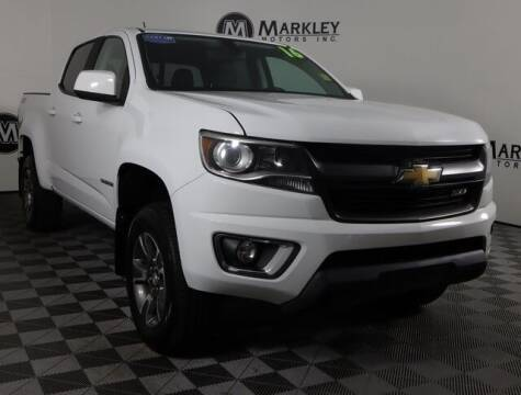 2016 Chevrolet Colorado for sale at Markley Motors in Fort Collins CO