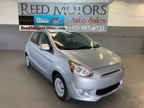 2014 Mitsubishi Mirage for sale at REED MOTORS LLC in Phoenix AZ