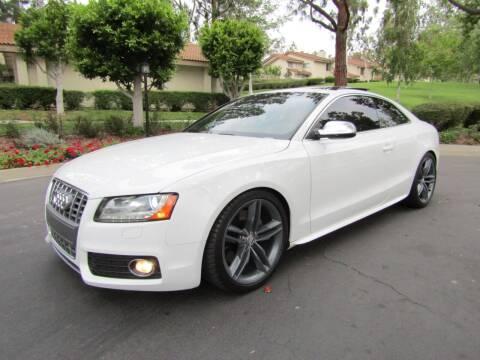 2010 Audi S5 for sale at E MOTORCARS in Fullerton CA