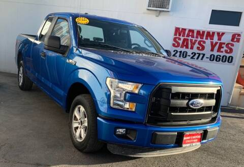 2015 Ford F-150 for sale at Manny G Motors in San Antonio TX
