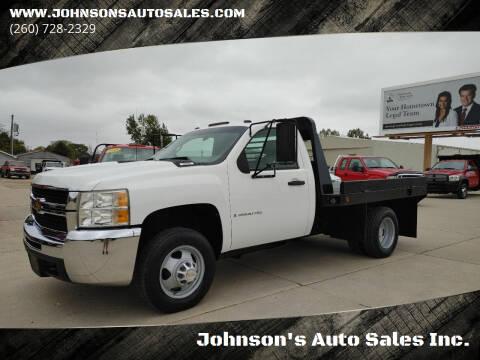 2009 Chevrolet Silverado 3500HD for sale at Johnson's Auto Sales Inc. in Decatur IN