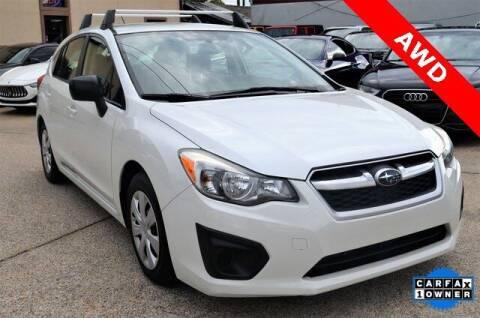 2014 Subaru Impreza for sale at LAKESIDE MOTORS, INC. in Sachse TX