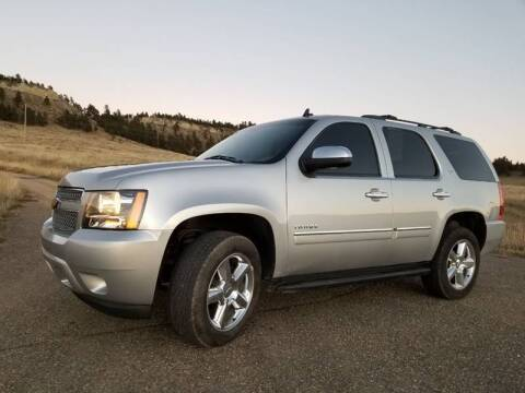 2013 Chevrolet Tahoe for sale at A & B Auto Sales in Ekalaka MT