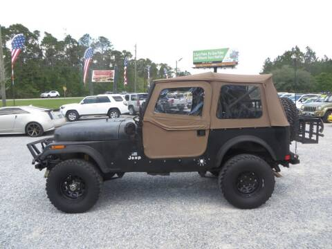 1986 Jeep CJ-7 for sale at Ward's Motorsports in Pensacola FL