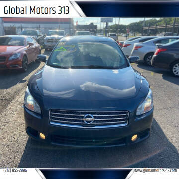 2010 Nissan Maxima for sale at Global Motors 313 in Detroit MI