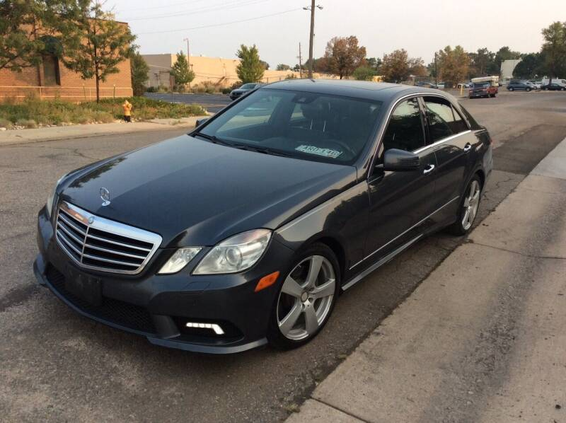 2011 Mercedes-Benz E-Class for sale at AROUND THE WORLD AUTO SALES in Denver CO