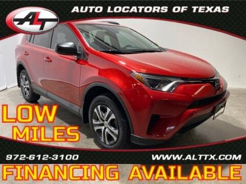 2017 Toyota RAV4 for sale at AUTO LOCATORS OF TEXAS in Plano TX