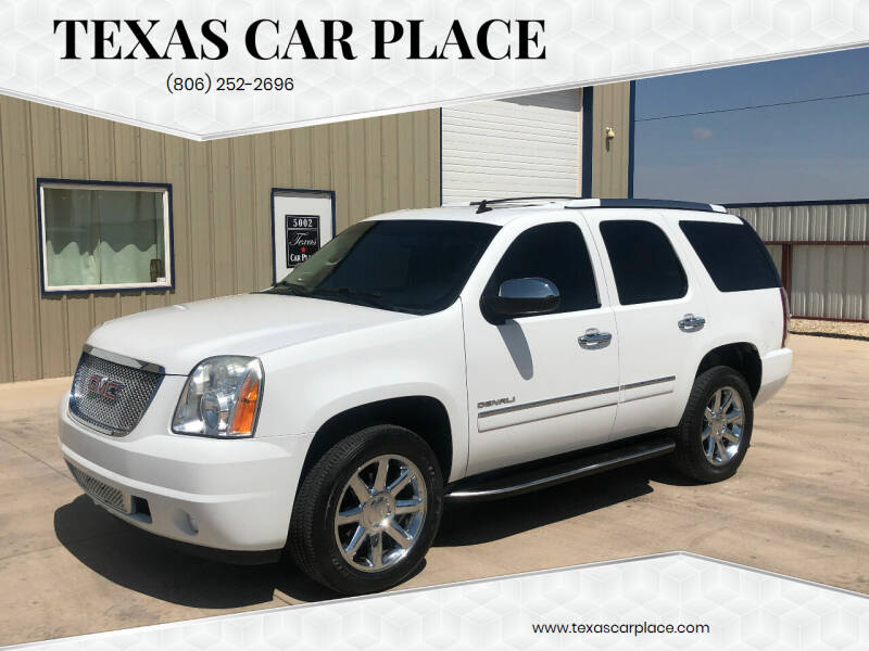 2012 GMC Yukon for sale at TEXAS CAR PLACE in Lubbock TX