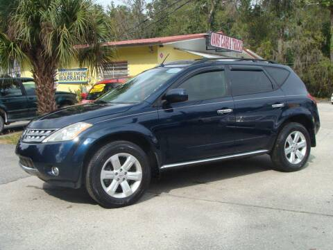 2007 Nissan Murano for sale at VANS CARS AND TRUCKS in Brooksville FL