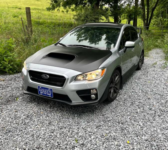 2017 Subaru WRX for sale at Bobbys Used Cars in Charles Town WV