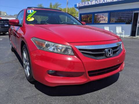 2011 Honda Accord for sale at GREAT DEALS ON WHEELS in Michigan City IN