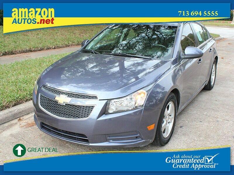 2014 Chevrolet Cruze for sale at Amazon Autos in Houston TX