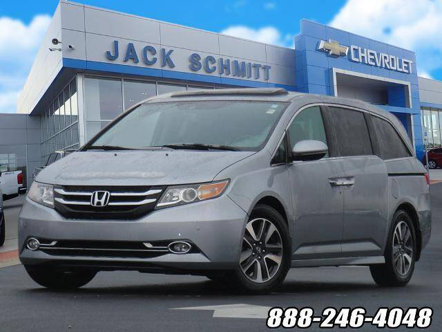 2016 Honda Odyssey for sale at Jack Schmitt Chevrolet Wood River in Wood River IL