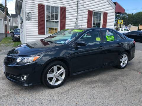 2012 Toyota Camry for sale at Crown Auto Sales in Abington MA