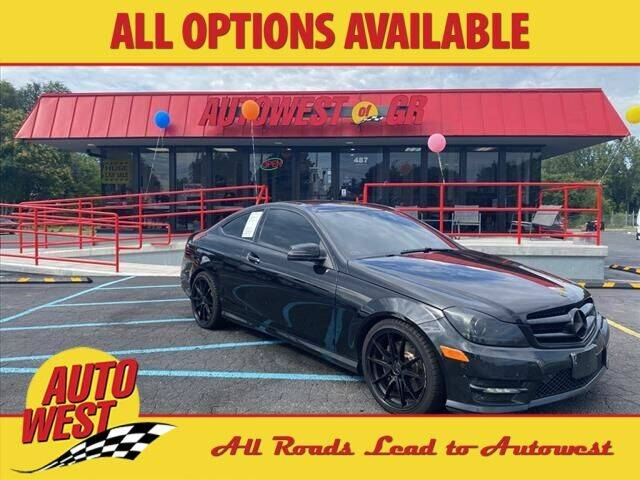 2015 Mercedes-Benz C-Class for sale at Autowest of GR in Grand Rapids MI