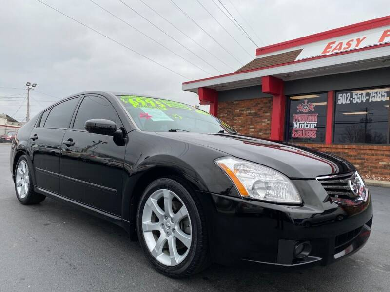 2008 Nissan Maxima for sale at Premium Motors in Louisville KY