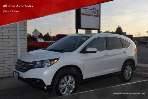 2012 Honda CR-V for sale at All Star Auto Sales in Pleasant Grove UT