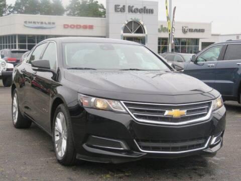 2015 Chevrolet Impala for sale at Ed Koehn Chevrolet in Rockford MI
