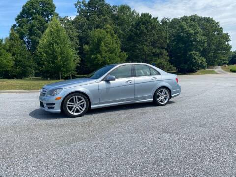 2013 Mercedes-Benz C-Class for sale at GTO United Auto Sales LLC in Lawrenceville GA
