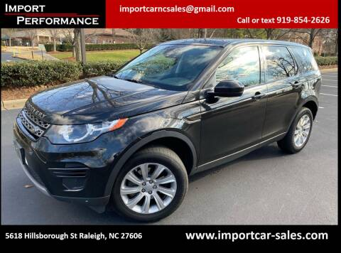 2016 Land Rover Discovery Sport for sale at Import Performance Sales in Raleigh NC