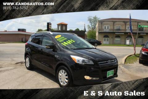2015 Ford Escape for sale at E & S Auto Sales in Crest Hill IL