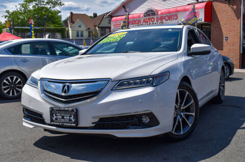 2017 Acura TLX for sale at Foreign Auto Imports in Irvington NJ