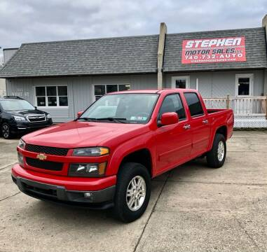 2012 Chevrolet Colorado for sale at Stephen Motor Sales LLC in Caldwell OH