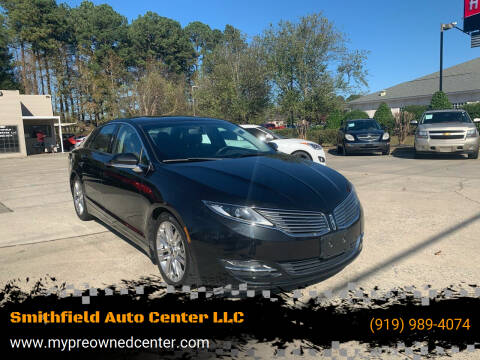 2014 Lincoln MKZ for sale at Smithfield Auto Center LLC in Smithfield NC