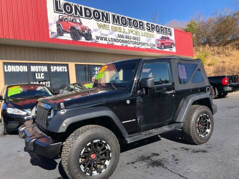 2010 Jeep Wrangler for sale at London Motor Sports, LLC in London KY