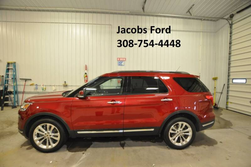 2018 Ford Explorer for sale at Jacobs Ford in Saint Paul NE