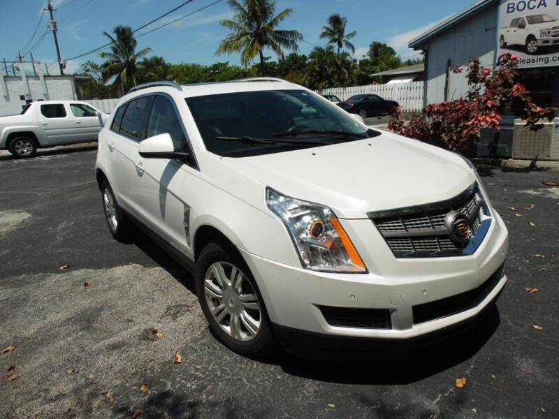 2012 Cadillac SRX for sale at Boca Leasing Center Inc. in West Palm Beach FL