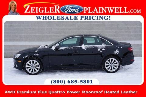 2019 Audi A4 for sale at Zeigler Ford of Plainwell- Jeff Bishop in Plainwell MI