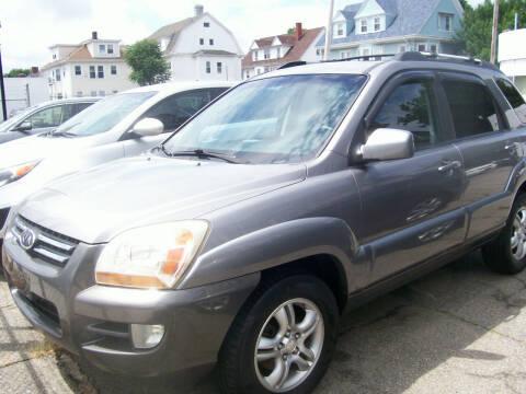 2008 Kia Sportage for sale at Dambra Auto Sales in Providence RI