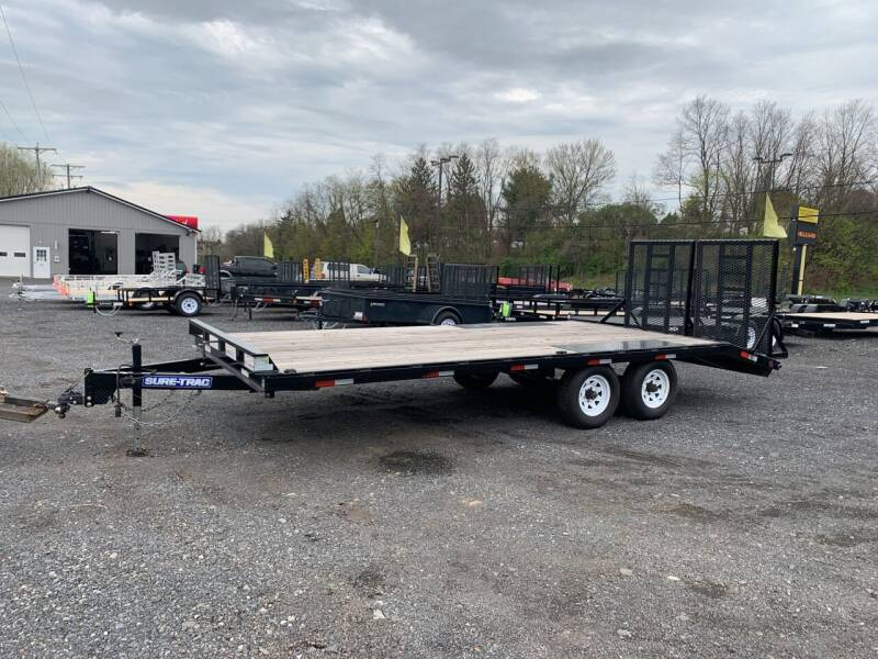 2016 Sure-Trac Deck Over 8.5x 20 10k  for sale at Smart Choice 61 Trailers in Shoemakersville PA