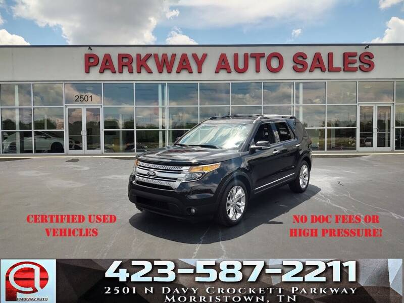 2015 Ford Explorer for sale at Parkway Auto Sales, Inc. in Morristown TN