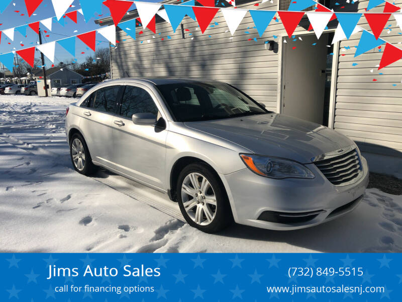 2011 Chrysler 200 for sale at Jims Auto Sales in Lakehurst NJ