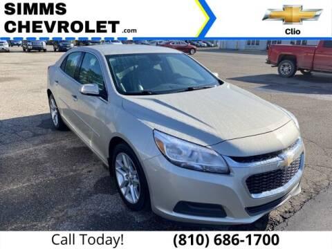 2014 Chevrolet Malibu for sale at Aaron Adams @ Simms Chevrolet in Clio MI