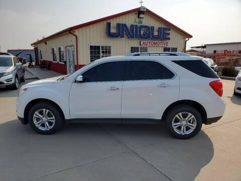 "2013 Chevrolet Equinox for sale at UNIQUE AUTOMOTIVE ""BE UNIQUE"" in Garden City KS"